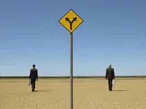 人生は、あなたがなるべきものになる方向に進む